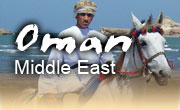 Horseback riding vacations in Oman