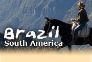 Horseback riding vacations in Brazil, Rio/Sao Paulo