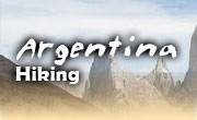 Hiking vacations in Argentina, Southern Patagonia