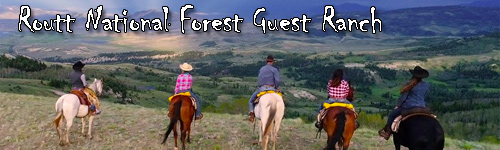 Routt National Forest Guest Ranch
