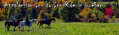 Appalachian Inn to Inn Ride in Quebec
