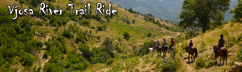 Vjosa River Trail Ride