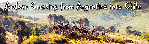 Andean Crossing from Argentina into Chile