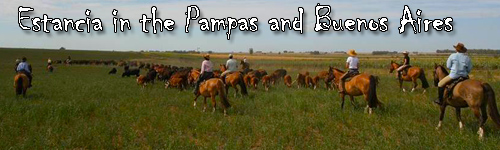 Estancia in the Pampas and Buenos Aires