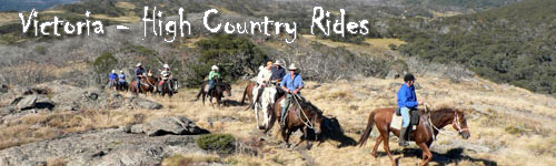 Victoria High Country Rides