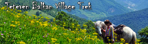 Teteven Balkan Village Trek