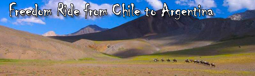 Freedom Ride from Chile to Argentina