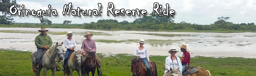 Orinoquia Natural Reserve Ride