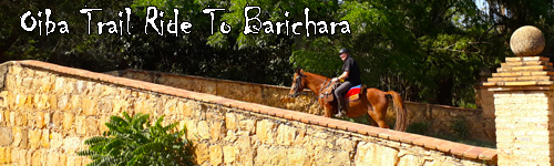 Oiba Trail Ride To Barichara