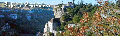 Ride to Rocamadour