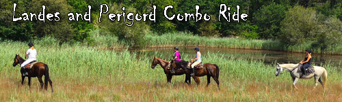 Landes and Perigord Combo Ride