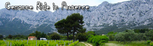 Cezanne Ride in Provence