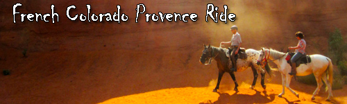 French Colorado Provence Ride