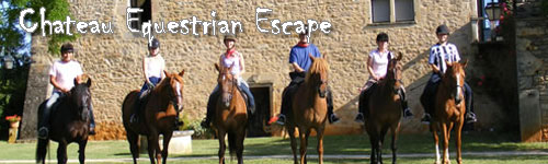 Chateau Equestrian Escape in Southern France
