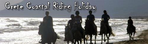 Crete Coastal Riding Holiday