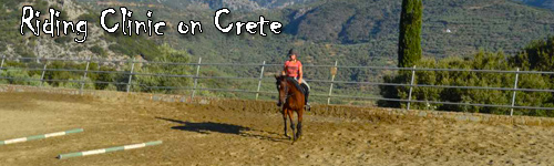 Riding Clinic on Crete