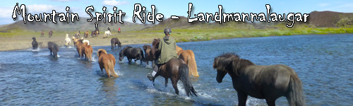 Mountain Spirit Ride - Landmannalaugar