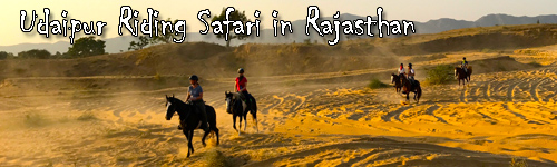 Udaipur Riding Safari in Rajasthan