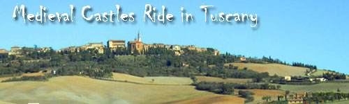 Medieval Castles Ride in Tuscany