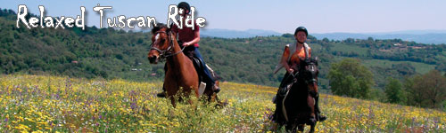 Relaxed Tuscan Ride in Maremma