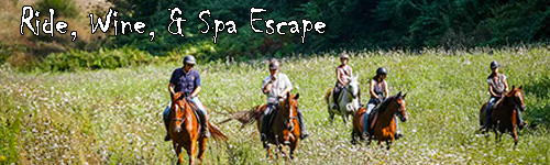 Ride, Wine, & Spa Escape