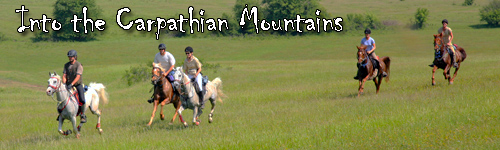 Into the Carpathian Mountains