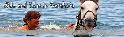 Ride and Swim in Catalonia