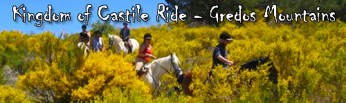 Kingdom of Castile Ride - across the Gredos Mountains