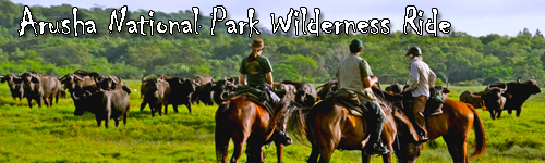 Arusha National Park Wilderness Ride