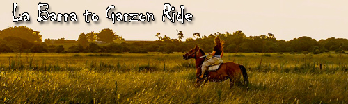 La Barra to Garzon Ride