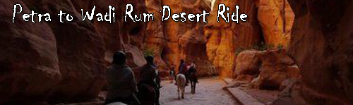Petra to Wadi Rum Desert Ride