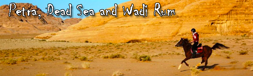 Petra, Dead Sea and Wadi Rum