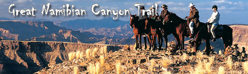 Great Namibian Canyon Trail