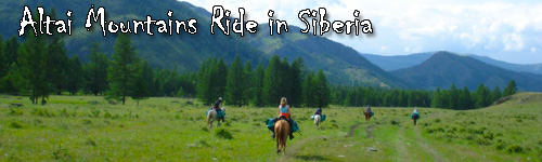 Altai Mountains Ride in Siberia