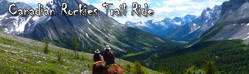 Canadian Rockies Trail Ride