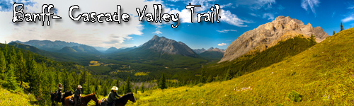 Banff  - Cascade Valley Trail