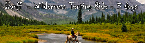 Banff  - Wilderness Tenting Ride - 5 days