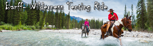 Banff  - Wilderness Tenting Ride
