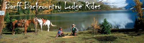 Banff  - Backcountry Lodge Ride - 4 days