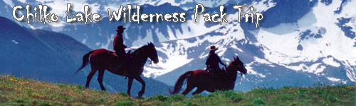 Chilko Lake Wilderness Pack Trip