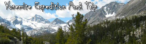 Yosemite Expedition Pack Trip