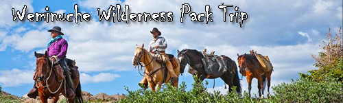 Weminuche Wilderness Pack Trip