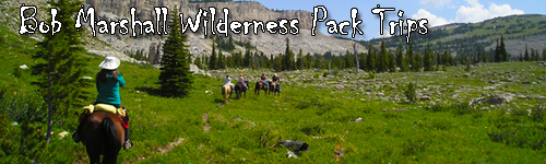 Bob Marshall Wilderness Pack Trips