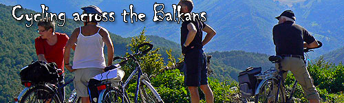 Cycling across the Balkans