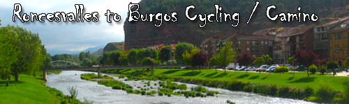 Roncesvalles to Burgos Cycling along the Camino