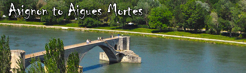 Cycling Avignon to Aigues Mortes