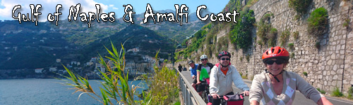 Gulf of Naples & Amalfi Coast by Boat and Bike
