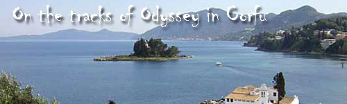 On the tracks of Odyssey in Corfu
