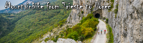 Mountainbike from Trieste to Porec