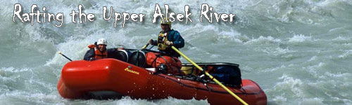 Rafting the Upper Alsek